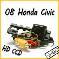 HD CCD car rear view  camera for 08 Honda Civic 1pcs/lot  free shipping