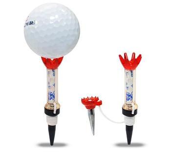 Golf ball plastic nail letter magnet ball tee
