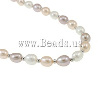 Free shipping!!!Natural Cultured Freshwater Pearl Jewelry Sets,Womens Jewelry Fashion, bracelet & necklace