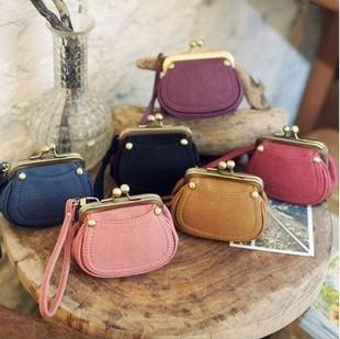Women's handbag 2012 wallet trend vintage beads buckle coin purse cosmetic bag purses small bag 3274