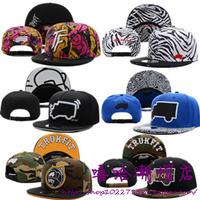 Trukfit snapback hat zebra print hiphop cap bboy hip-hop hat baseball cap