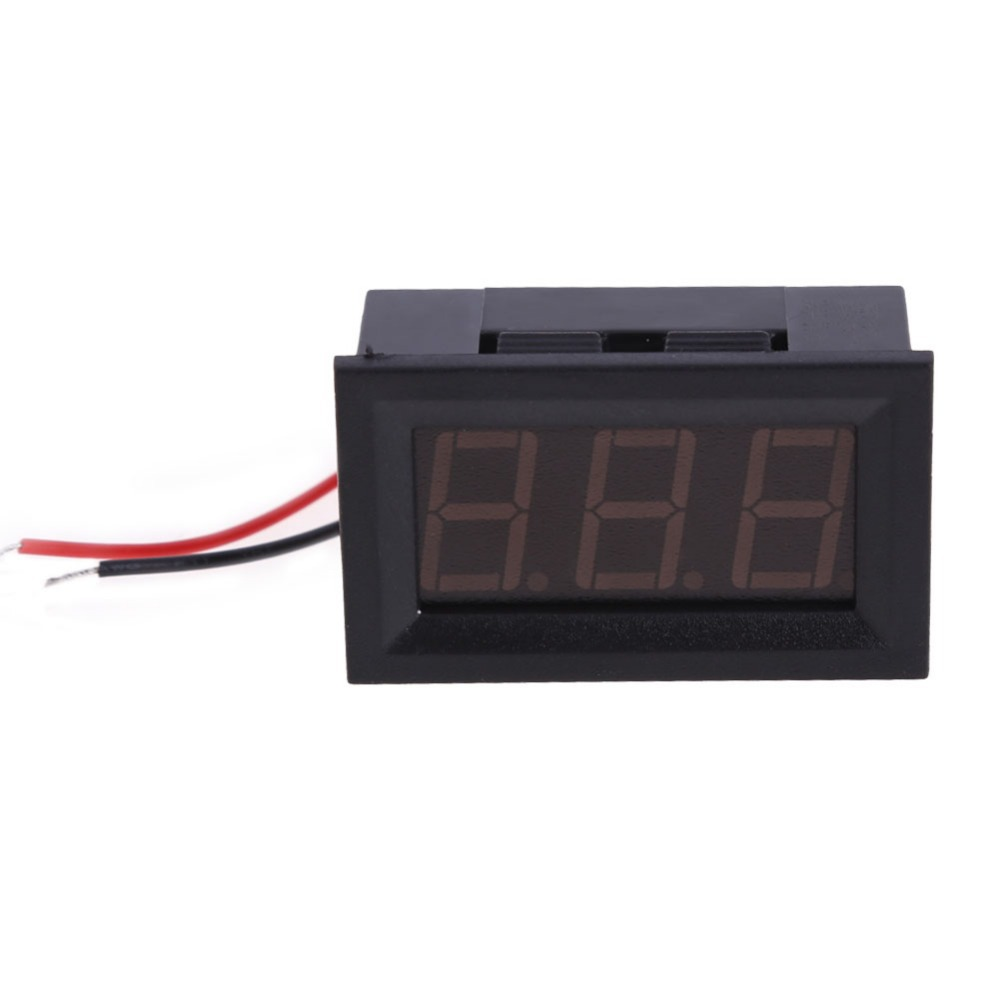 R1B1 4.5-30V Mini LED DC Digital Voltmeter Display Wattmeter for Auto Car Truck(China (Mainland))
