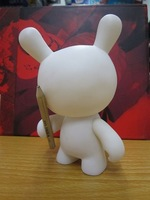 Free shipping! Dunny blmomo rabbit white mold toy DIY toy 4 inch tall