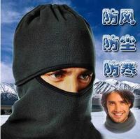 NWT Black Warm Full Face Cover Winter Ski Mask Beanie Hat Scarf Hood CS Hiking
