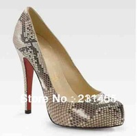 sexy snake design high heel shoes free shipping
