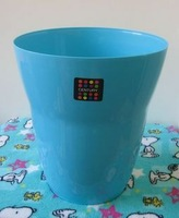 Fashion colorful health bucket cleaning bucket plastic trash bucket