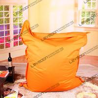 FREE SHIPPING 140*180CM orange bean bag cover 100% cotton bean bag sofa living room bean bag chair wholesale and retail