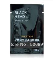 Free Shipping 100pcs Facial Minerals Conk Nose Blackhead Remover Mask Pore Cleanser Nose Black Head EX Pore Strip