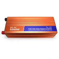 Pure sine wave inverter 48v 220v 8000w household appliances high power emergency battery switching power