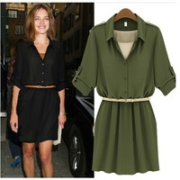 New Arrival Product 2013 Autumn Dress, Big Size Fall Dresses, Dress Party Evening Elegant, Collar Dress Free Shipping