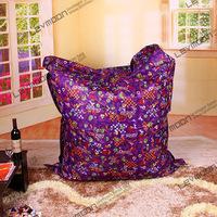 FREE SHIPPING garden bean bag cover water proof outdoor bean bag no filling POLYESTER bean bag factory bean bag chair covers