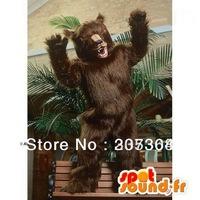 Customized Black bear mascot costume Free shipping