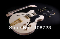 DIY Semi Hollow Body Electric Guitar For Jazz  Double Cutway Guitar Kit ES-335