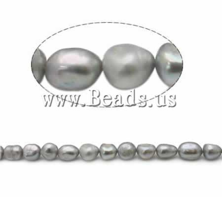 Free shipping!!!Baroque Cultured Freshwater Pearl Beads,Chinese Jewelry Company, AA, 9-10mm, Hole:Approx 0.8mm, Length:15 Inch(China (Mainland))