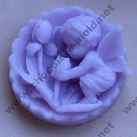 free shopping flower angel handmade silicone soap mold moulds wholesale cake tools