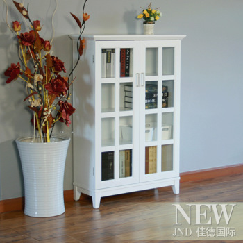 2012 simple bookcase shelf bookcase free cabinet new arrival glass door bookcase