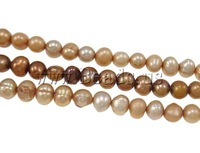 Free shipping!!!Baroque Cultured Freshwater Pearl Beads,Clearance, Nuggets, natural, mixed colors, 4.5-5mm, Hole:Approx 0.5mm