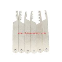Free shipping! fast delivery 25pcs/lot New  locksmith tool 6pcs comb picks