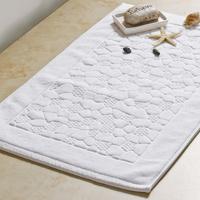 Mats bathroom in towel 100% thickening cotton eco-friendly waste-absorbing slip-resistant pad doormat mat
