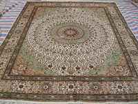 Size 8x10ft Gorgeous 100%Handmade Persian Silk  Carpet And Rug  a39-8x10 On Sale!
