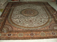 Size 8x10ft Gorgeous 100%Handmade Persian Silk  Carpet And Rug  a41-8x10 On Sale!