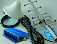 CDMA 850MHz 3G Repeater CDMA / GSM 850MHz Signal Repeater Booster 80dB 1set free shipping