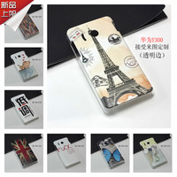 Freeshipping Huawei y300 shell case cover for Huawei u8833 multi colors Dropshipping