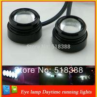 new  3W   Eagle Eye lamp Car Rear Light  High Power  Car  light  Daytime Running Light