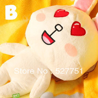 Plush toy 40cm Line plush toys birthday gift gifts for christmas new year gifts with tags Love heart eyes free shipping