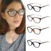 I-bright 2013 new fashion hot sale optical glasses frame women decoration cool leopard plain mirror anti-ridiation free shipping