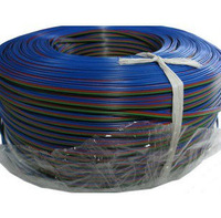 10m/lot 4 Pin Rgb Wire Led Strip Connect Wire Cable Extension Power Cord for RGB Led Strip Use Plugless Wire Power Cord