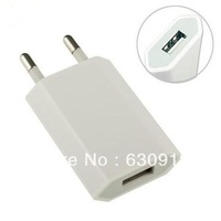 5pcs/lot New Wall EU Europe Travel USB Charger adapter  free shipping