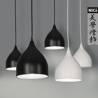 Modern brief fashion personality tieyi restaurant pendant light dome light