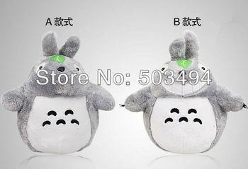 2pcs 22cm/ 8.6inch hot sale 2style My Neighbor Totoro Plush Toys Soft Toys Gray Totoro Doll Kids Doll Plush Totoro Best Gift