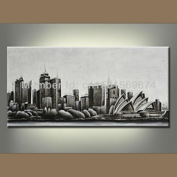 Abstract Landscape Canvas Art Landscape Canvas Wall Art