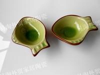Ceramic dinnerware set plate fashion calvings glaze plate limited edition dish vinegar dish