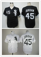 hot sale Free Shipping Chicago White Sox #45 Michael Jordan Men's Baseball Jerseys cheap good quality size M-3XL