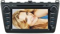 wholesale MAZDA6 2008-2012 DVD GPS;8 inch 2 Din Navigation radio bluetooth phonebook ipod