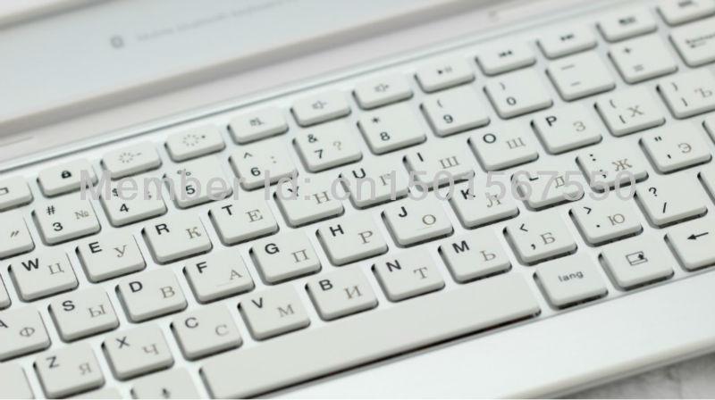 Screen protector russisch toetsenbord voor samsung galaxy tab 2
