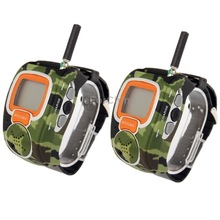 Freetalker Watch Walkie Talkie, Up to 6km of Range, (2pcs in one packaging, the price is for 2pcs), Only US Plug
