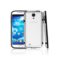 for SAMSUNG I9500 Galaxy S IV   s4 9500 colorful transparent bumper phone case protective case