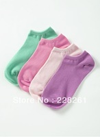 Candy e race fashion antibacterial ultra fine cotton socks - Women (4 pairs / pack)