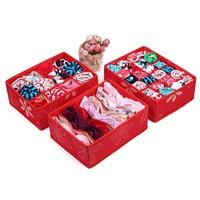 Baby storage box underwear storage box socks storage box storage piece set