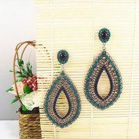 Latest Vintage Statement Earrings of Bohemia Style Women Big Jewelry Free Shipping Nickel Free 1102729