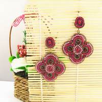 Серьги висячие Vintage Bohemia Drop Earrings Fashion Tassels Jewelry Qulity Guaranteed V-FE101015