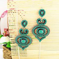 Latest Vintage Statement Earrings of Bohemia Style Women Big Jewelry Free Shipping Nickel Free 1102685