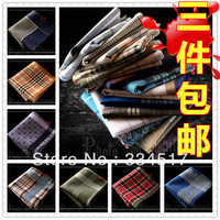 Free shipping Hot Men's 100% cotton multicolored handkerchief handkerchief 100% cotton Women