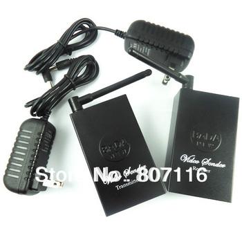 2.4GHz 4 channel Wireless Audio Video AV Transmitter Receiver Sender Retail New