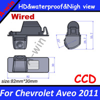for Chevrolet Aveo 2011 HD reversing camera CCD Hot sell  car parking backup camera