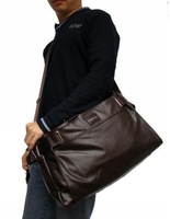 2013  New Arrival Men's  Three Functions Bag Single-shoulder  PU Bag for Travelling & Business  Wholesale Free Shipping BJP115